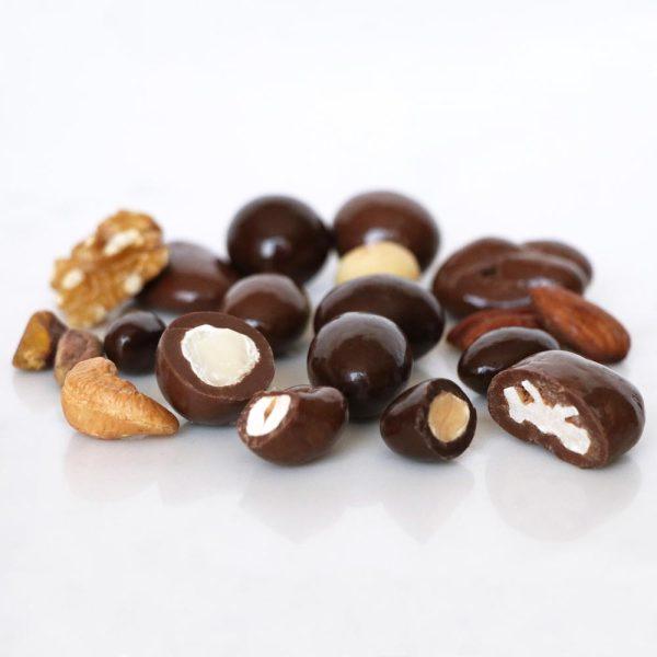 chocolate nut medley