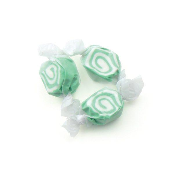 key lime taffy green and white swirl