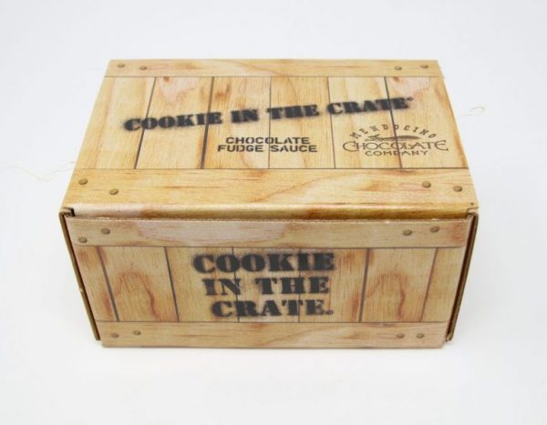 fudge sauce crate