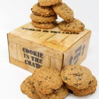 Cookie in the Crate – Oatmeal Raisin Cookies