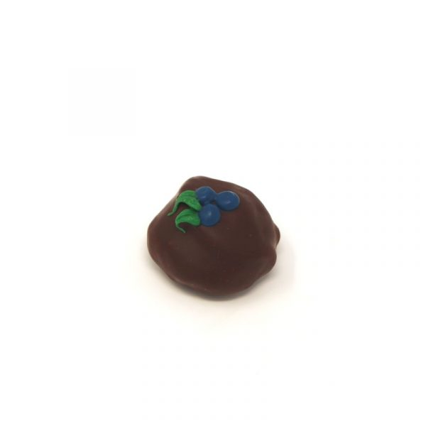 blueberry chocolate truffle