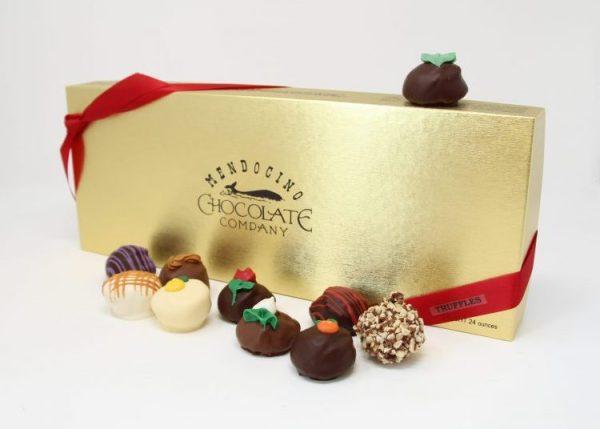 traditional 24 piece truffle box