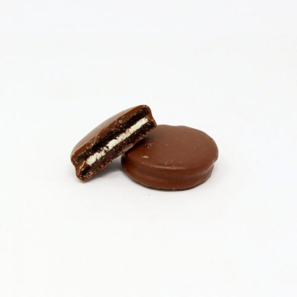 milk chocolate oreos
