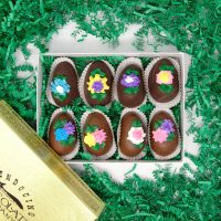 Assorted Truffle Eggs in Milk and Dark Chocolate