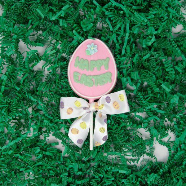 Happy Easter Egg Lollipop