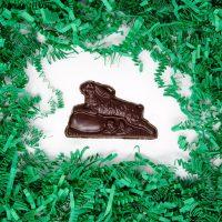 Running Bunny in Dark Chocolate
