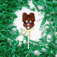 Easter Rabbit Lollipop in Milk Chocolate
