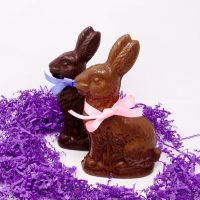 Large Easter Bunny Chocolate Sculpture