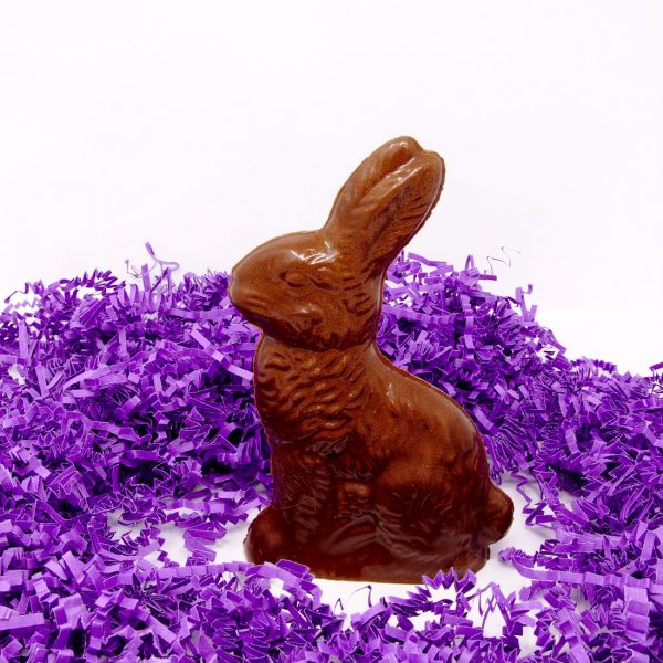 Sitting bunny sculpture