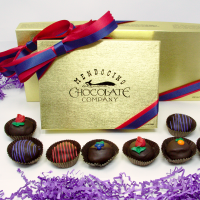 mother's day dark chocolate truffle assortment gift box