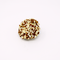 almond nut truffle in milk chocolate